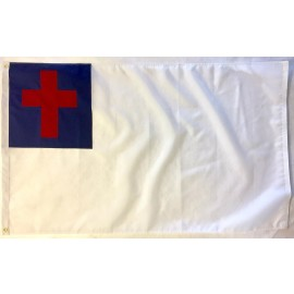 3' x 5' Nylon Christian Flag with Grommets