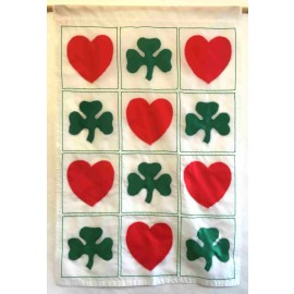 Quilt of Hearts and Shamrocks